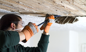 $1,200 for 3 Rooms of Acoustic Popcorn Ceiling Removal and Re-Texturing
