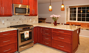 $49 for a Kitchen Design Consultation with 3-D Renderings Plus Granite Countertop Credit