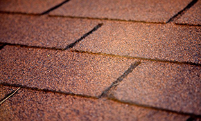 $570 Deposit for a New Roof with 3-D Architectural GAF Timberline HD Shingles