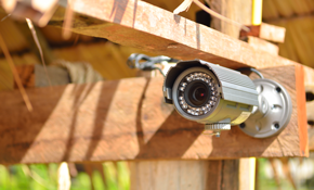 $1,199 for CCTV Supply and Installation Set of 4 Cameras, DVR and Wiring