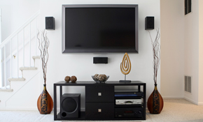 $179 TV Wall Mount Service - Includes Mount, Wire Concealment and More