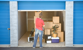 $110 for 1 Month of Storage (10' x 10' Storage Space)