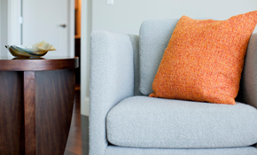 $162 for Sofa and Armchair Low Moisture/Eco-Friendly Cleaning - Includes Scotchgard