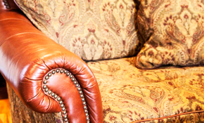 $105 for Upholstery Cleaning and Deodorizing