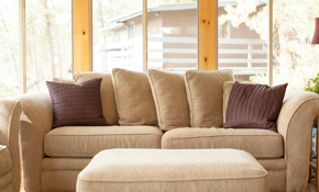 $199 for Premium Upholstery Cleaning of a Sofa and Chair; Includes Stain Protection
