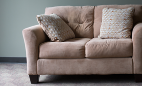 $189 for a Sectional Sofa or Sofa and Loveseat Low Moisture/Eco-Friendly Cleaning - Includes Scotchgard