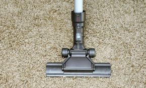 $66 for 2 Rooms of Deep Restoration Carpet Cleaning