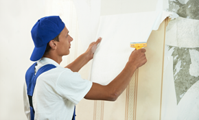 $250 for 8 Hours of Wallpaper Removal or Interior Painting Services