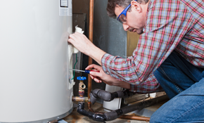 $949 for a Gas or Electric 38 Gallon Water Heater Installed - Warranty Included