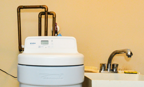 $1,993 for a New Water Softener and Whole House Filter 2-Tank System