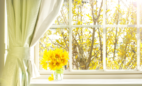 $1,499 Installation of 5 Energy Star Windows, 57% Savings