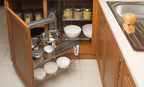 $165 for 3 Hours of Kitchen Cabinet and Bathroom Pantry Organization