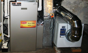 $2,599 for a New Gas Furnace Installation