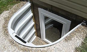$4,150 for New Egress Basement Window with Installation