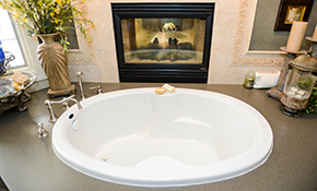 $699 Bathtub Refinishing with Non-Slip Surface