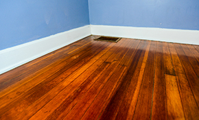 $875 for up to 500 Square Feet of SandFree Hardwood Floor Refinishing
