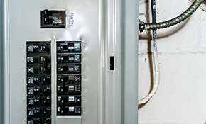 $1,169 for an Electrical Panel Replacement and Surge Protection