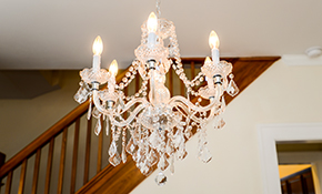 $199 for Chandelier Hanging