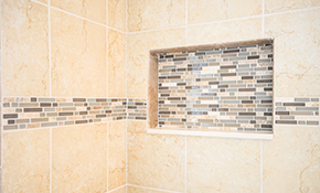 $2,700 for a Ceramic Tile Shower Replacement - Labor and Materials Included, Reserve Now for $135