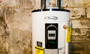 $1,350 for an Energy-Efficient Water Heater--Installation Included