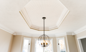 $575 for Crown Molding Installation and Painting--Up to 60 Feet