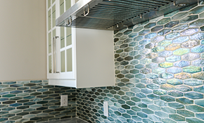 $610 for a New Ceramic Tile Backsplash - Labor Included
