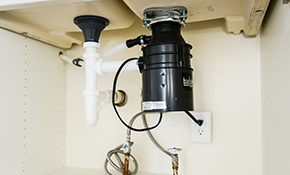 $350 Installation of an InSinkErator Badger Five Garbage Disposal