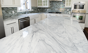 $2,499 for Custom Quartz Countertops--Labor and Materials Included