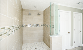 $2,499 for a Ceramic Tile Shower Replacement - Labor and Materials Included