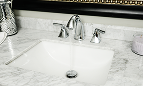 $159 for Bathroom Faucet Installation