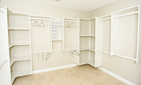 $2,199 Walk-in Closet Re-Design and Professional Installation