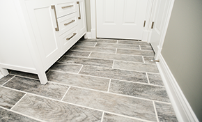 $2,499 for a New Wood-Look Ceramic Tile Floor, Wall or Backsplash