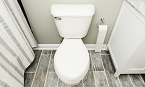 $549 Toilet Installation Plus 2 Water-Saver Shower Heads, Reserve Now for $27.45
