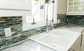 $149 for 3 Hours of Kitchen/Bathroom Caulking and Grout Restoration - Including Materials