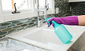 $189 for 6 Hours of Healthy Green Housecleaning