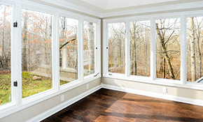 $793 Installation of a Pella Wood Clad Double Hung Window