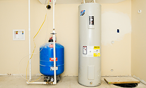 $1,905 for a 40-Gallon Electric or Gas Water Heater, Installation Included
