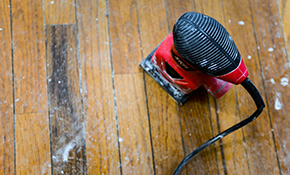 $1,399 for up to 500 Square Feet of Hardwood Floor Sanding and Refinishing