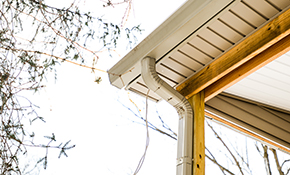 $1,530 for 100 Feet of High-Capacity, 6-Inch Rain Gutters or Downspouts