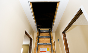 $25 for an Attic Inspection, Insulation and Ventilation Analysis and $300 Credit