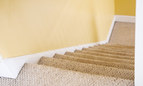 $119 for Eco-Friendly No-Residue Carpet Cleaning Special for 3 Rooms with a Free Hallway