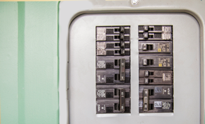 $1,155 for an Electrical Panel Replacement and Surge Protection