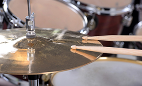 $175 for 1 Month of Drum Lessons - 1 Hour Sessions