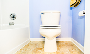 $423 for a New Toilet Installation