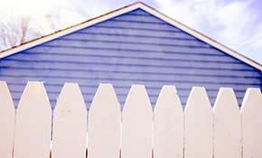 $129 for White Vinyl Fence Cleaning