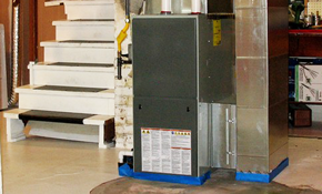 $2,250 for a New Gas Furnace Installation