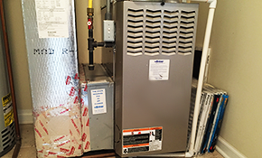 $1,670 for a New Gas Furnace Installation