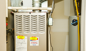 $2,412 for a High-Efficiency Gas Furnace, Includes Installation