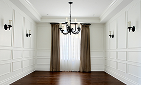 $630 for Crown Molding Installation and Painting--Up to 60 Feet