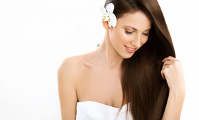 $225 for a Brazilian Blowout Hair Treatment